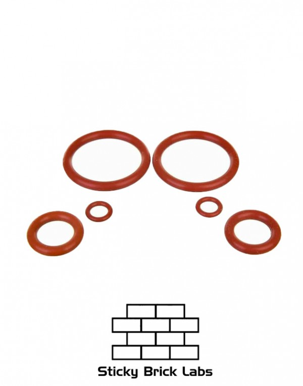 Sticky Brick Labs : OG Brick o-ringl set